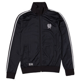 Brick Lane Bikes London BLB Taped Zip Track Top Men Black